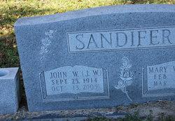 "John W. ""J. W."" Sandifer"