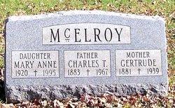 Charles T McElroy