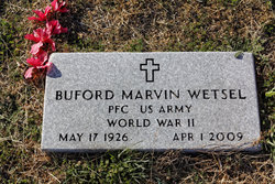 Buford Marvin Wetsel