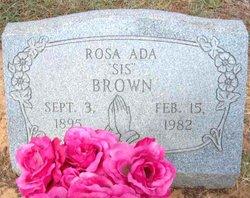Rosa Ada <I>Pope</I> Brown