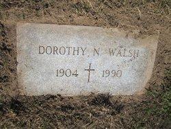 Dorothy N Walsh