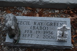 "Cecil Ray ""Babo"" Green"