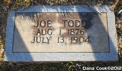 "Joseph Livingston ""Joe"" Todd, Sr"