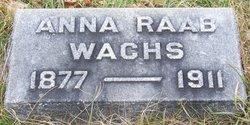 Anna <I>Raab</I> Wachs