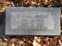 B Alma Wright