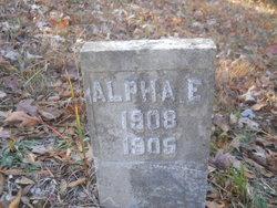 Alpha E Vaughan