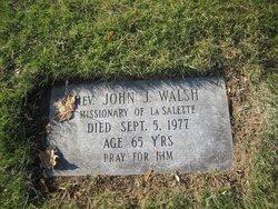 Rev John J Walsh