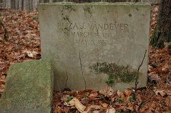 Eliza J <I>Dawson</I> Vandever