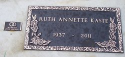 Ruth Annette <I>Hawkes</I> Kaste