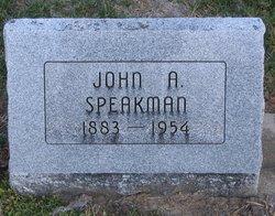 John A Speakman