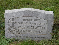 Vass M Crayton
