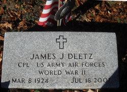James J Deetz