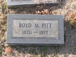Boyd M. Pitt