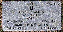 Leroy S Aiken