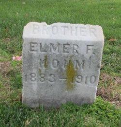 Elmer F Hohm