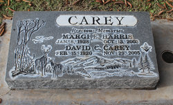 Margi Elaine <I>Setchel Harris</I> Carey