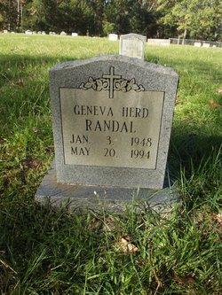Geneva <I>Randal</I> Herd