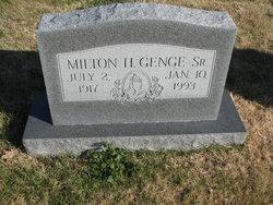 Milton Henry Genge, Sr