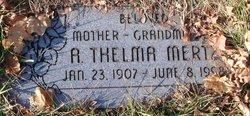 Annie Thelma <I>Layton</I> Mertz