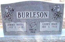 Gerry Dian <I>Saxon</I> Burleson