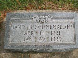 Janet Bernadine Schneckloth
