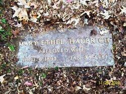 Mary Ethel <I>Lovelace</I> Haubrich