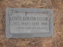 Cecil Gerald Taylor