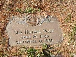 Sue <I>Holmes</I> Yost