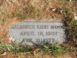 Elizabeth <I>Kidd</I> Moore
