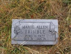 Mamie <I>Allen</I> Trimble
