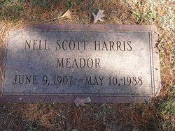 Nell Scott <I>Harris</I> Meador