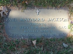 Paul Maynard Jackson