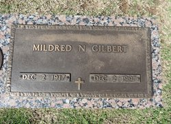 Mildred N <I>Nail</I> Gilbert