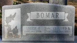 Louise E <I>Baker</I> Bomar