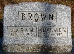 Georgia Mahala <I>Dotson</I> Brown
