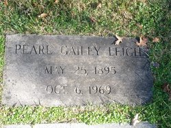 Pearl <I>Gailey</I> Leigh