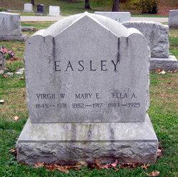 Mary Elizabeth <I>Lee</I> Easley