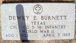 Dewey Edward Burnett, Sr