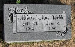 Mildred Mae Webb