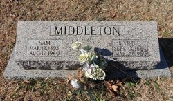 Myrtle <I>Sprague</I> Middleton