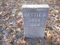 Hattie W Vaughan