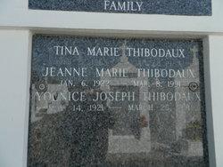 Jeanne Marie <I>Lirette</I> Thibodaux