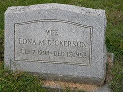 Edna M Dickerson