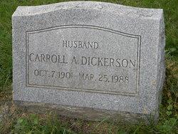 Carroll A Dickerson