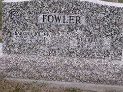 Barbara Jolene <I>Bland</I> Fowler