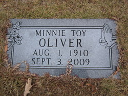 Minnie Toy Oliver