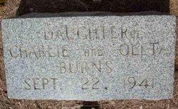 Daughter Burns