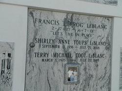 "Terry Micheal ""Toot"" Leblanc"