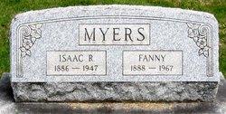 Mrs Fanny <I>Thierolf</I> Myers