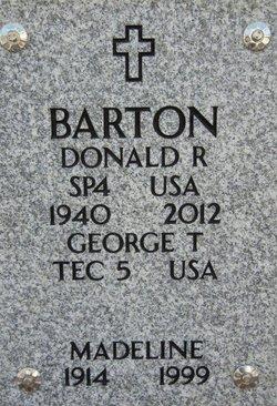 Donald Ray Barton